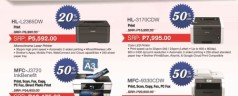Trade in your old printer and get up to 50% discount on a brand new Brother printer