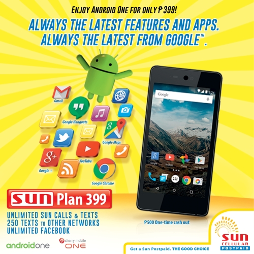 Sun cellular to offer cherry mobile one on sun postpaid for Sun mobile plan