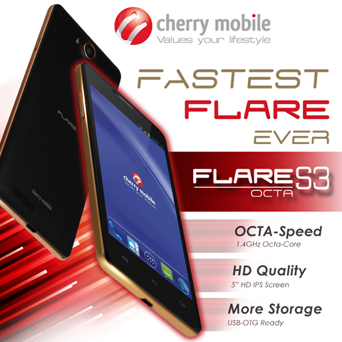 Cherry mobile flare s3 octa core official specs and price pinoy tech