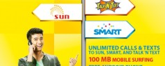 Sun launches TRI-NET 799 Plan offering Unli calls and Unli Texts to Sun, Smart and TNT