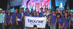Brother PH promotes advocacies through Relay for Life