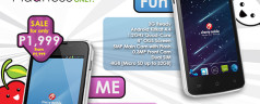 Cherry Mobile ME, ME Fun to go on sale for 4 days