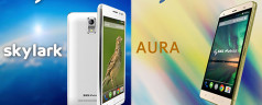 SKK Mobile Skylark and Aura might be the cheapest phablets under Php3k