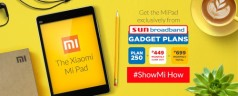 Get the Xiaomi Mi Pad from Sun Broadband for as low as Php 699 per month