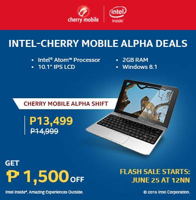 cherry mobile alpha play shift