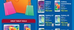 The Great Samsung Sale – up to Php PHP6,000 worth of discounts on Samsung smartphones and tablets
