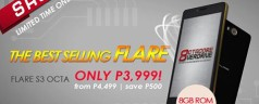 Cherry Mobile Flare S3 Octa goes on sale