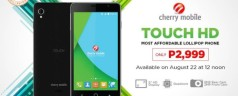 Cherry Mobile Touch HD goes on sale for Php 2,999