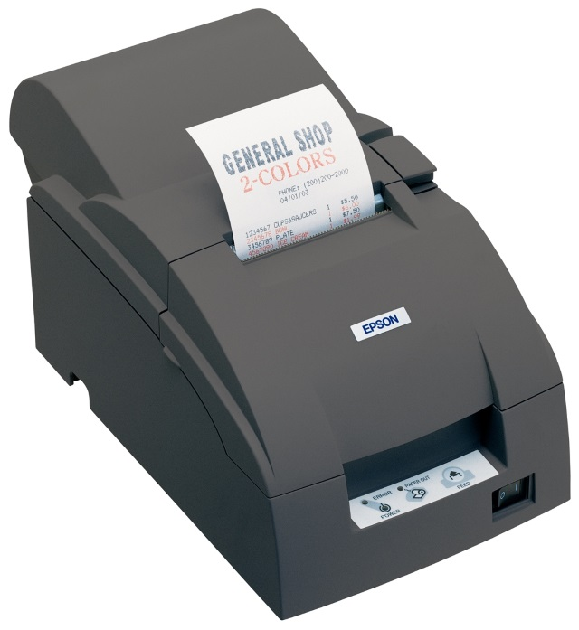 Epson TM-U220 dot matrix POS printer