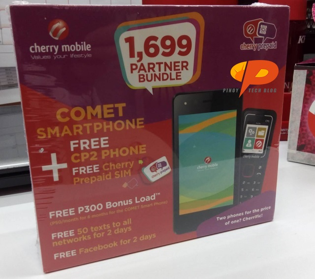 Cherry Mobile Prepaid Bundle Comet CP2 Cherry SIM