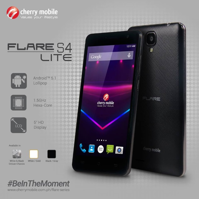 Cherry Mobile Flare S4 Lite for only P3,999