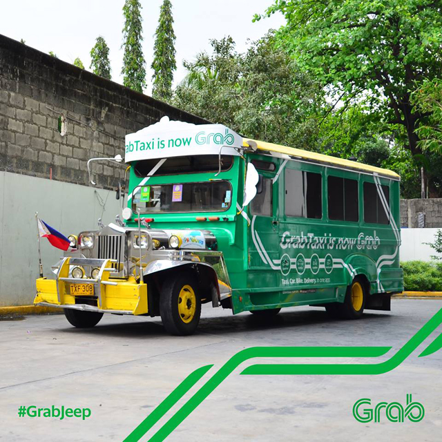 Grab's recently launched GrabJeep