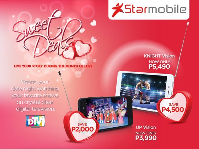 starmobile up vision knight vision valentines day sale