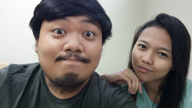 Sample selfie with beautify lenovo vibe