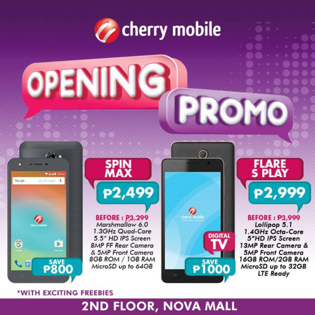 sale on the Cherry Mobile Flare S Play