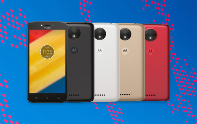 Moto C and Moto C plus Price and Availability