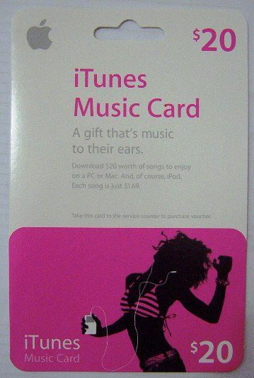 The iTunes Music Card in Sydney can be adopted as a Cash-in method for G-Cash