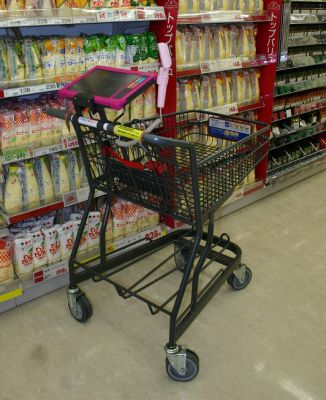 RFID Shopping Wagon