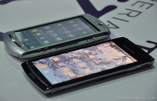 Xperia Neo compared to Xperia Arc