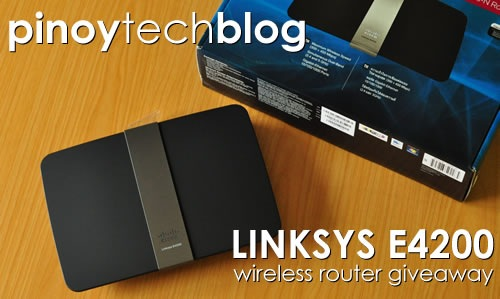PTB Linksys E4200 Giveaway