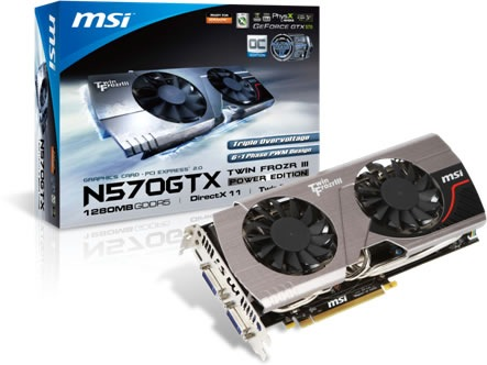 MSI N570GTX Twin Frozr III Power EditionOC