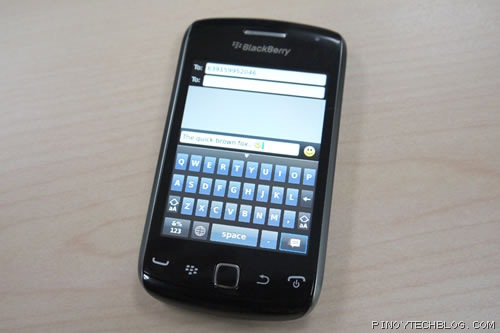 Blackberry Curve 9380 Review, the Curve goes full touch