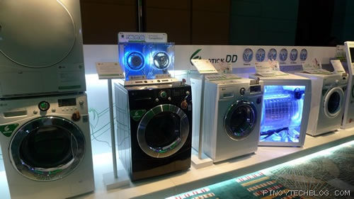 Lg Upgrades Washers With Energy Efficient Inverter Direct Drive Motor Pinoy Tech Blog