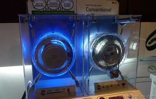 Lg upgrades washers with energy efficient inverter direct for Lg direct drive motor