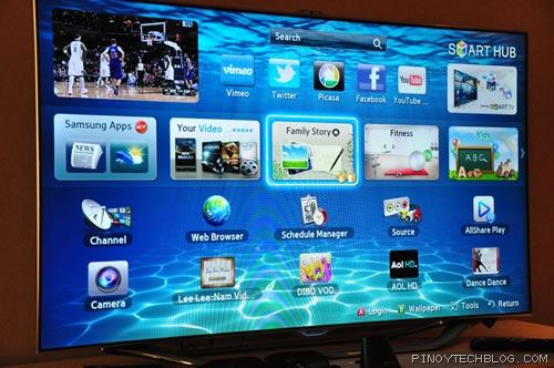 samsung es8000 smart led tv review smart tvs get smarter pinoy tech blog tech news and. Black Bedroom Furniture Sets. Home Design Ideas