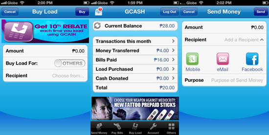 Globe GCASH launches new mobile app for Apple, Android and