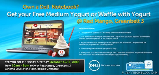Dell laptop owners get free treat from Red Mango