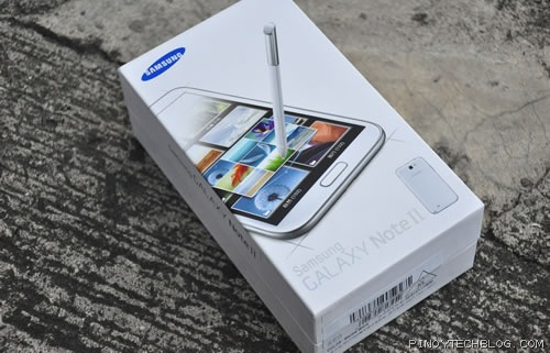 Samsung Galaxy Note II 1