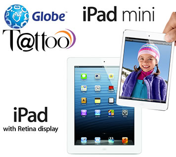Globe deals ipad mini