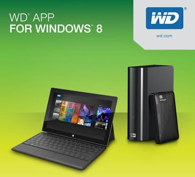 wd app for windows 8