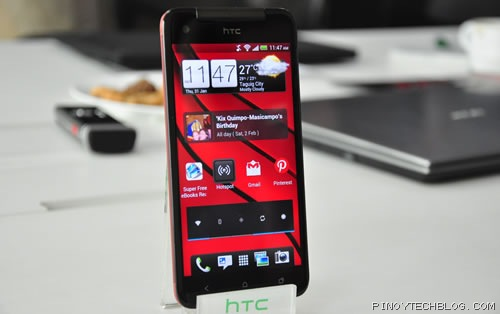 HTC Butterfly front
