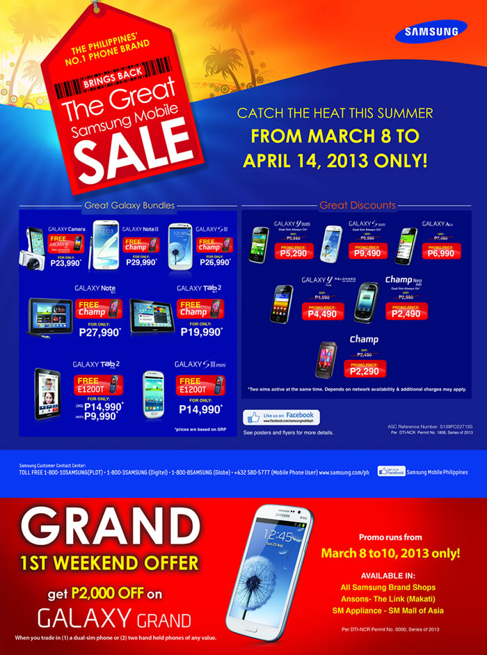 great samsung sale