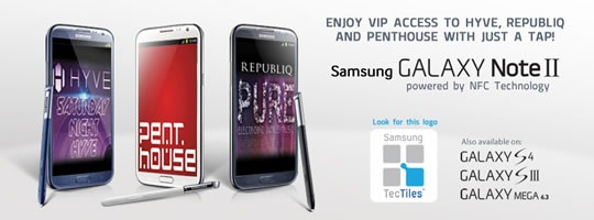 Samsung Galaxy Club access