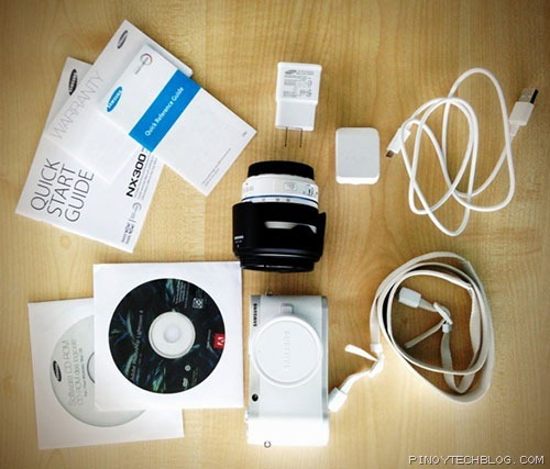 Samsung-NX-300-box-contents