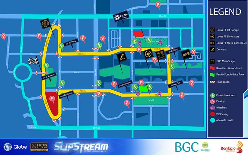 Globe Slipstream Schedule and Race Map Pinoy Tech Blog