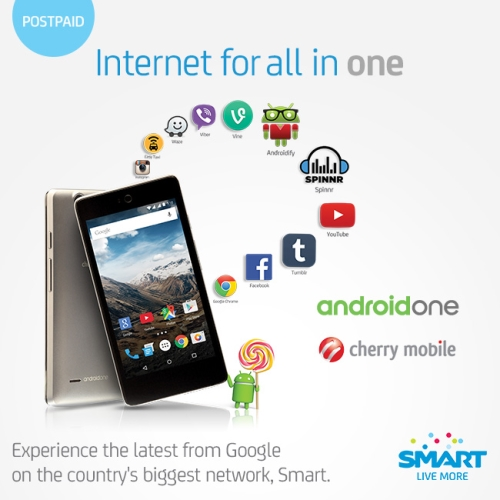 Cherry Mobile ONE to be offered by Smart under Plan 499