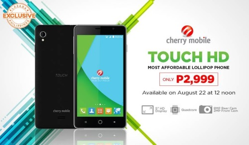 cherry mobile touch hd 2