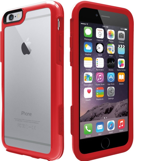 otterbox mysymmetry case red