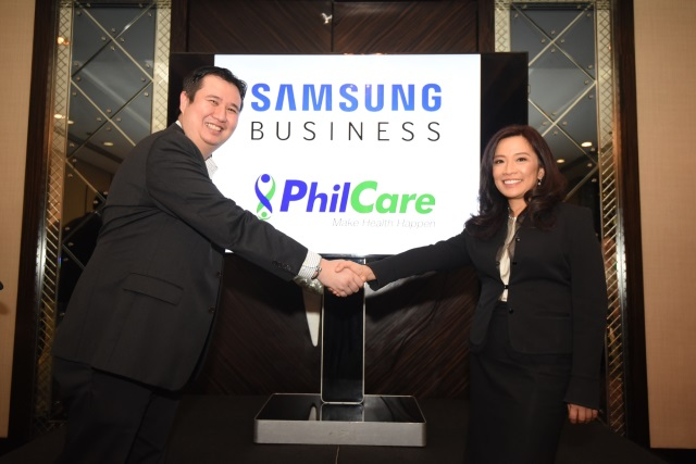 Philcare Samsung NFC Card Chad Sotelo and Noemi Azura