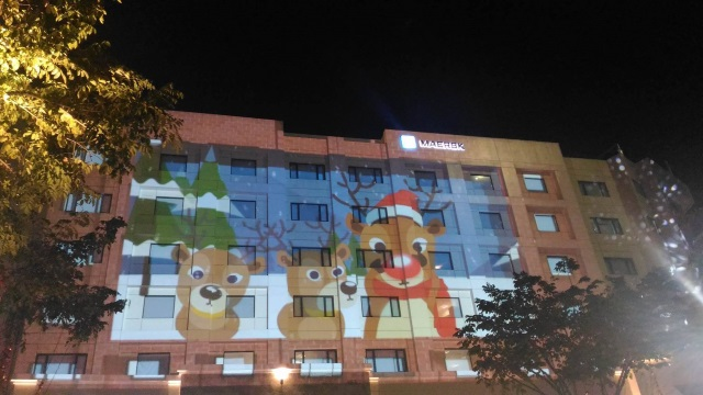 Epson Spectacular Christmas Celebration 3D Projection Mapping Show (2)