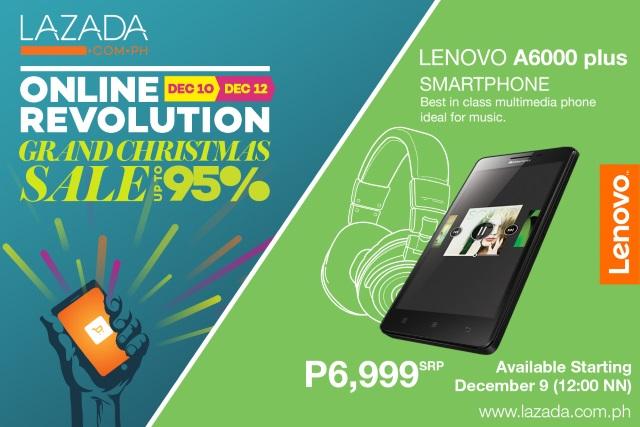 Lenovo A6000 Plus to be exclusively available at Lazada for