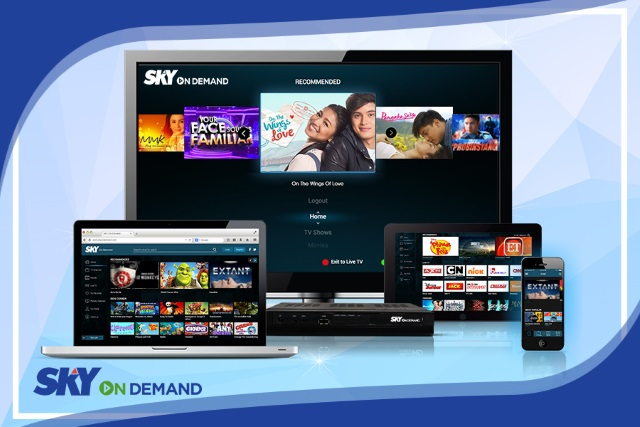 Never Miss Your Favorite Tv Shows And Movie Series With Sky On Demand From Sky Cable