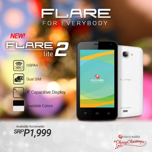cherry mobile flare lite 2 specs and price