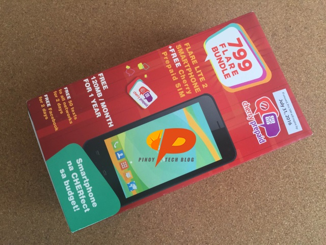 Cherry Prepaid 799 Flare Lite 2 Bundle