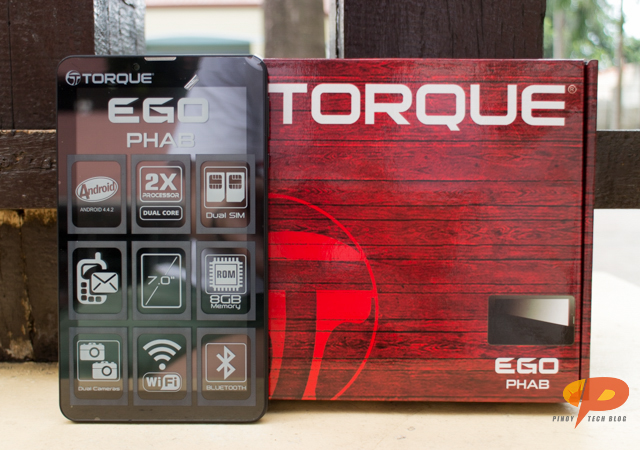 Torque Evo Phab and Android tablet