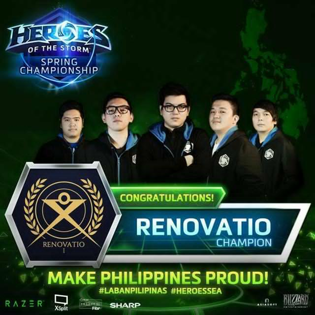 Team Renovatio and Heroes of the Storm and HotS